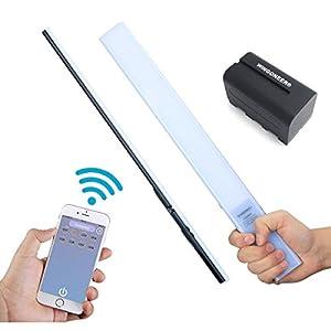 YONGNUO YN360S ultradünne, ultraleichte Handheld-Eisstock LED-Videoleuchte...