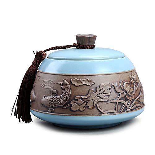 WY-Funeral Urn Feuerbestattung Urnen versiegelte Tee-Dosen Lagerung von Tee-Dosen Lagerbehälter Tee-Dosen -