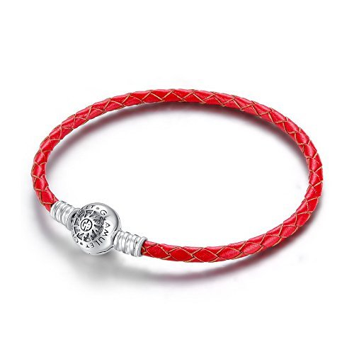 glamulet-art-womens-925-sterling-silver-single-red-leather-charm-bracelet-fits-pandora-charms-21cm-b
