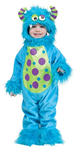 Fun World Costumes Baby's Li'L Monster Infant Costume, Blue, (Baby Monster Für Kostüme)