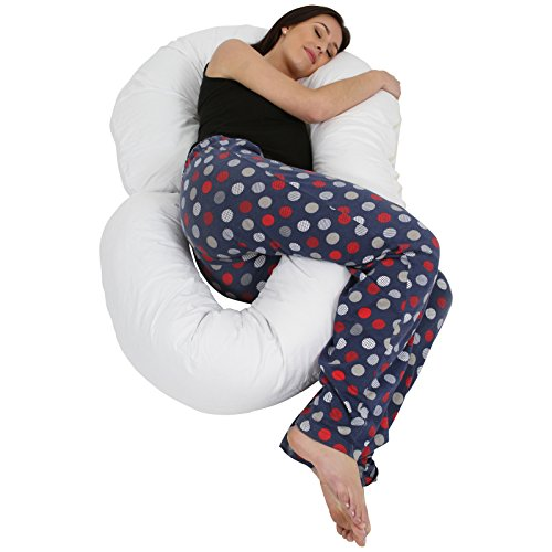 Love2Sleep BIG G PILLOW MATERNITY SUPPORT PILLOW/ FULL LENGTH BODY PILLOW/ G SHAPE/ ULTIMATE SUPPORT G PILLOW/ CUDDLE PILLOW/ SNAKE PILLOW
