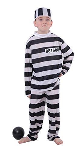 Kostüm Gefangene Größe von 8 bis 10 ()