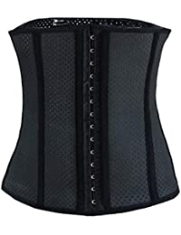 ANEINEICinturón Deportivo Cinturón de Fitness Femenino Cinturón Cinturón Faja Adelgazante del Vientre Pérdida de Peso Cinturón Abdominal Forma de la Cintura Forma Delgada Sección XS (Cintura adecua