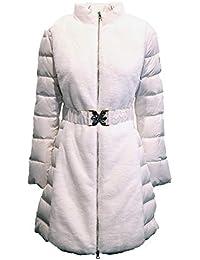 Amazon.it  liu jo - Bianco   Giacche e cappotti   Donna  Abbigliamento a1660768fc8