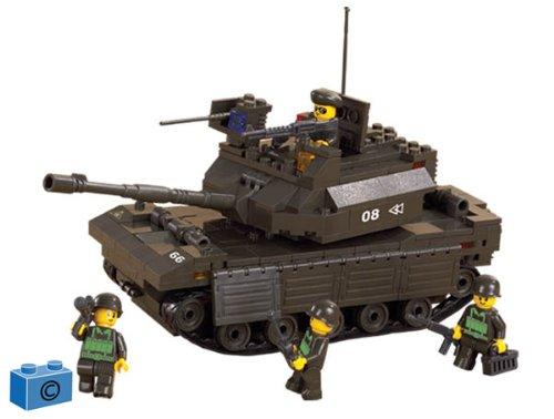Sluban Army - M38-B6500 - Jeu de Construction - Char (Tank)