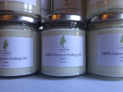 Oil Pulling Organic Coconut NO Additives or Chemicals