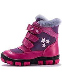 Feidaeu Scarponi da Neve per Bambini delle Ragazze Scarpette Ortopediche  per Bambini delle Ragazze dei più 734e58619b8