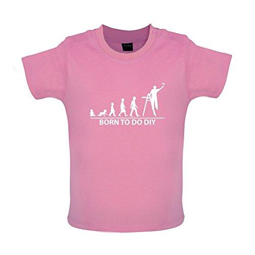 Born to Do DIY - Baby T-Shirt - Bubble-Gum-Pink - 18 bis 24 Monate