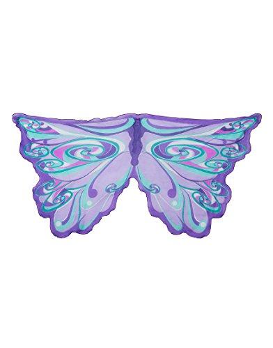 73lila Fairy Rainbow Flügel Kostüm (One Size) (Dress Up Fairy)