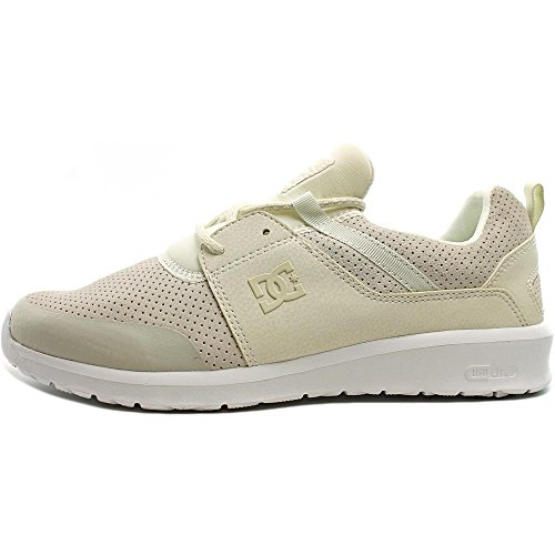 DC - - Herren-Heathrow Presti Low Top Freizeitschuh White/White/White
