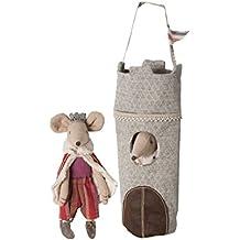 King Maileg ratón en su torre