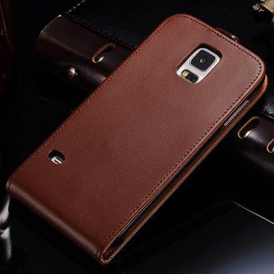 aridox (TM) S5Luxe Étui en cuir véritable pour Samsung Galaxy S5i9600Coque Fashion Téléphone Housse Sac Étui à rabat pour Samsung Galaxy S5Noir 2016
