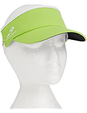Headsweats Super - Gorra de ciclismo para mujer, color amarillo, talla Talla única