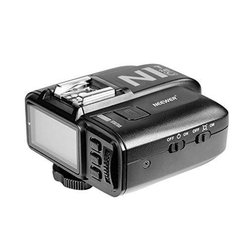 Neewer N1T-C E-TTL 2.4 G 32 Kanäle Funk-Blitzauslöser -Sender für Canon EOS DSLR Kameras wie 5D Mark II / III, 70D 60D 550D, Studio-Blitz und Blitz Speedlite