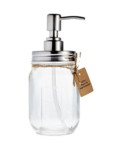 Smith' s Mason Jar Dispenser di sapone