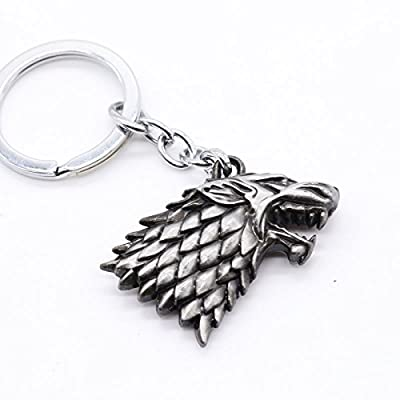 Game of Thrones Keyring - House Stark