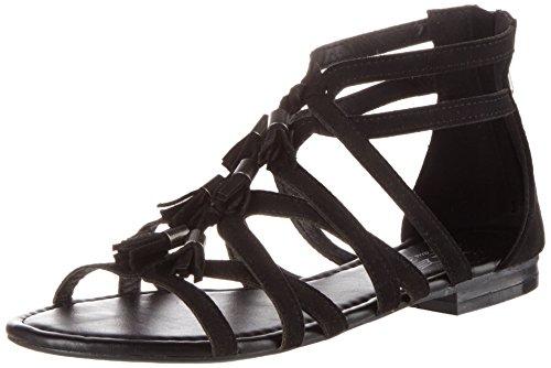 Fritzi aus Preussen Damen Sandals 06 Offene, Schwarz (Black), 39 EU