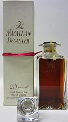 Macallan - Tudor Crystal Decanter - 1962 25 year old