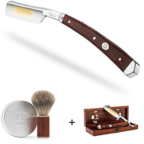 A.P. Donovan – Rasiermesser Set | Geschenkset | individuell kombinierbar für die perfekte Rasur