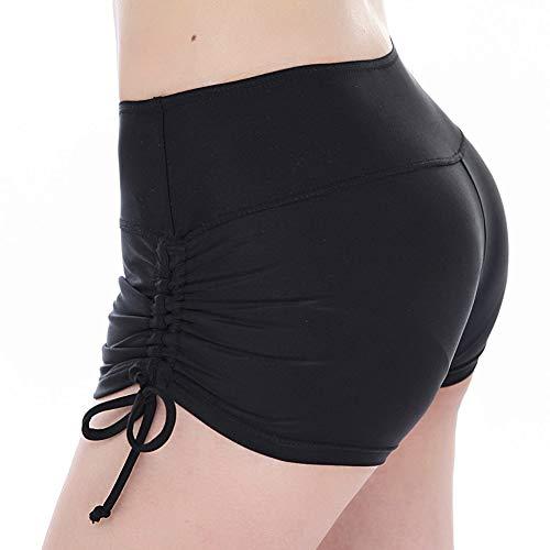 TFENG Badeshorts Damen Sport Tankini Bottom Shorts mit seitlich geteiltem Bund Summer Beach Swimwear Bikinihose