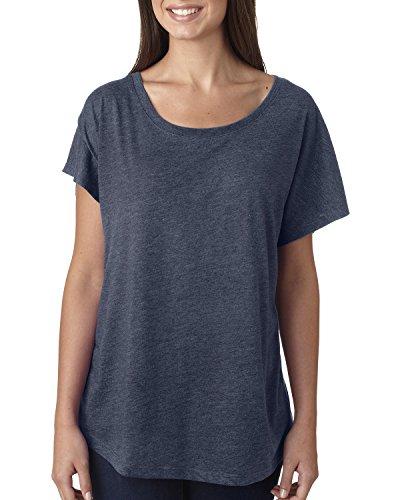 Next Level - T-shirt - Femme Bleu - Indigo