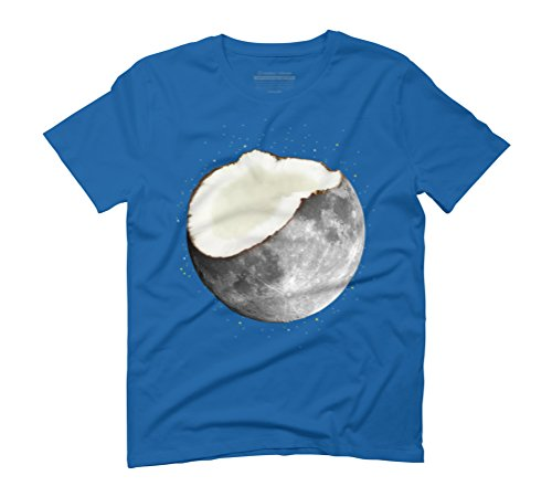 coconuts moon Men's Graphic T-Shirt - Design By Humans Royal Blue