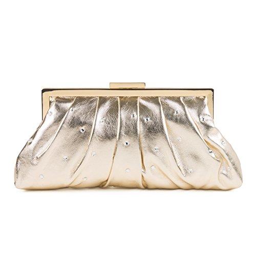 Soft PU Clutch Bag Oro (oro)
