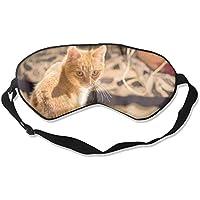 Eye Mask Eyeshade Cat Background Sleep Mask Blindfold Eyepatch Adjustable Head Strap preisvergleich bei billige-tabletten.eu