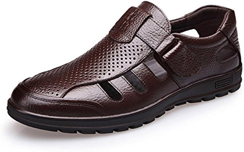 NBWE Männer Hohlsandelholze Lüftung Lässige Füße Weichen Boden Vater Schuhe