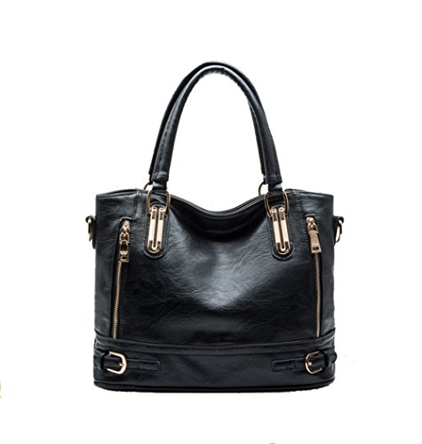 Cczimo ,  Mädchen Damen Tasche schwarz