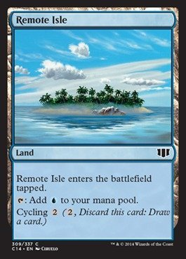 Preisvergleich Produktbild Magic: the Gathering - Remote Isle - Commander 2014 by Magic: the Gathering