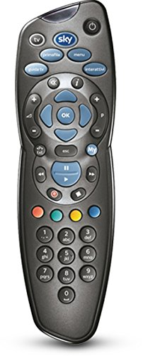 Sky-716-Telecomando-Universale-per-Decoder-My-Sky-e-My-Sky-HD-Nero