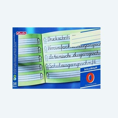 Herlitz Zahlenlernheft, x.book, DIN A4 quer, Lineatur ZL