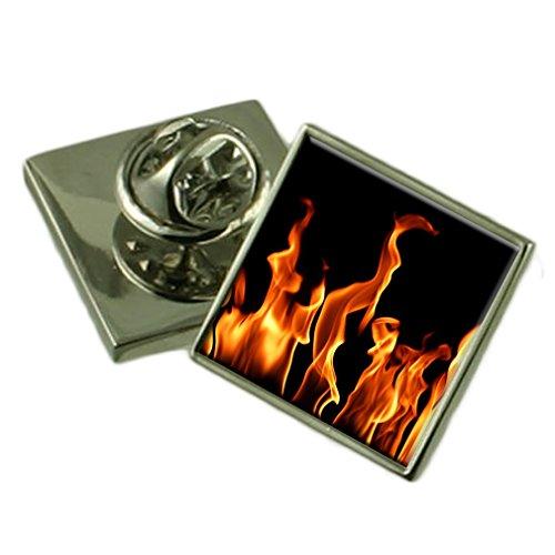 Die Flammen des Feuers Ehrennadel Abzeichen Geschenk Tasche
