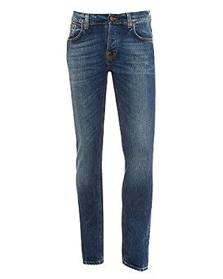 Nudie Men's Grim Tim Jeans