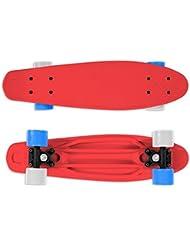 Street Surfing monopatín Fizz, Rojo, 22, 500402