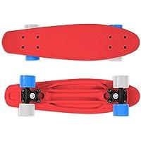 Streetsurfing Fizz Board 22 Skateboard, Rosso, M