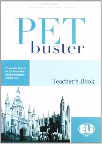 PET Buster: Teacher's Book by Lisa Dodgson (2008-12-31)