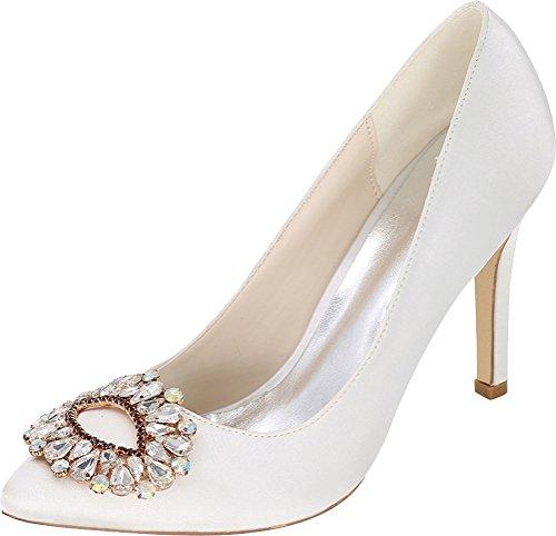 Salabobo Sandales Compensées Femme Blanc