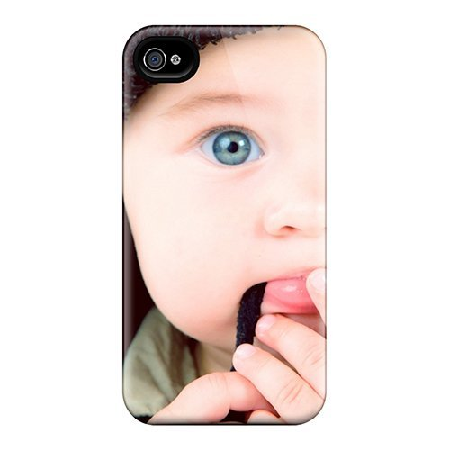 Tpu Purecase Shockproof Scratcheproof Uber Cute Boy Hard Case Cover For Iphone 4/4s