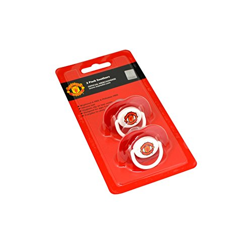 Manchester United FC 2pk Soother Set