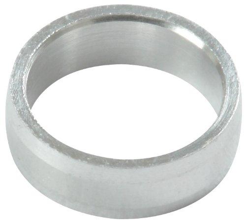 Target Slot Lock Rings Ringe Aluminium Silber, 6 Stück