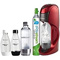 Sodastream - MEGAPACK - Dynamo black - Une machine Sodastream + 2 Sirop + 2 grandes bouteilles + 2 petites bouteilles + 1 cylindre CO² - 4012552310