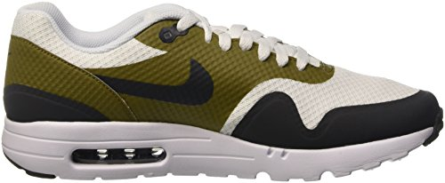 Nike Herren Air Max 1 Ultra Essential Trainingsschuhe Multicolore (White/Anthracite-Olive Flak-White)