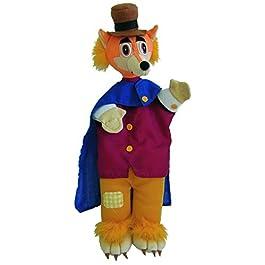 Au Sycomore – Compare Volpe Marionetta con Gambe, 35 cm