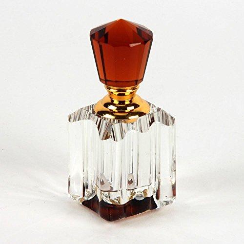 Sophia Kristall Parfüm Flasche Bernstein Deckel 5ml - Kristall Parfüm Duft Flasche