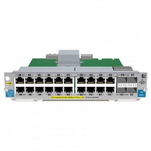 HPE 20-Port Gig-T/4-port SFP v2 zl Mod (20-port-usb-switch)