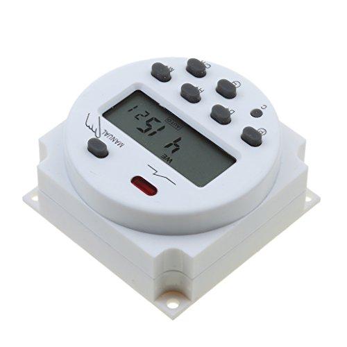Programmierbarer Timer Batterie (Gazechimp CN101A Digital LCD Programmierbarer Timer Zeitschaltuhr - 24v)