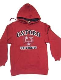 Oxford University sudadera con capucha de decoración con apliques Diseño Manchester United