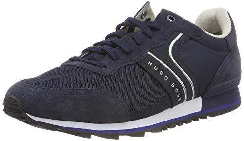 BOSS Athleisure Parkour_Runn_nymx, Zapatillas para Hombre, Azul (Dark Blue 408), 42 EU